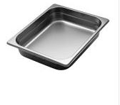 Stainless steel Gastronorm containers GN 1/2