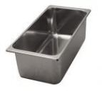 Stainless steel Gastronorm containers GN 1/9
