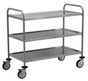 TEC1107 AISI 304 stainless steel Cart Technical 100x50x95h