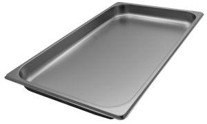 GST1/1P040  Contenitore Gastronorm 1/1 h40 mm in acciaio inox AISI 304
