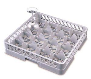 B16 Base 16 scomparti 50x50x9h grigio per bicchieri diametro 11 cm