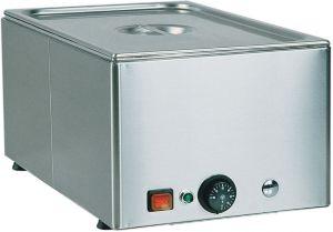 BM11 Mesa caliente electrica de sobremesa acero inox 1x1/1GN 54x33x22h