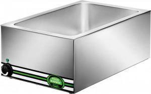 BM7700 Mesa caliente baño maria de acero inoxidable GN 1/1 57x37x22h
