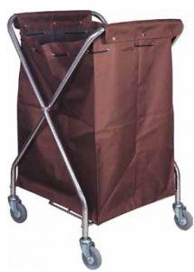 TCA 3203 Cestone portabiancheria carrellato con sacco