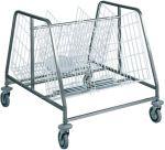 TCA 659 Carro extracción distribución de platos 2 cestas 200 placas