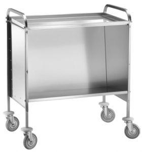 CP1441C Carrello portapiatti per piatti impilati piano superiore capacità 200 piatti