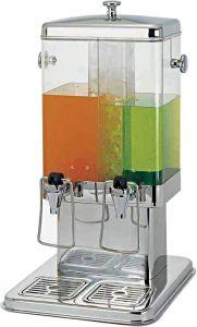 DS10402 Dispensador de bebidas y jugos frios doble  5+5 litros