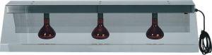 PIA4715  Marco con 2 lámparas infrarrojos suspendida para colgar