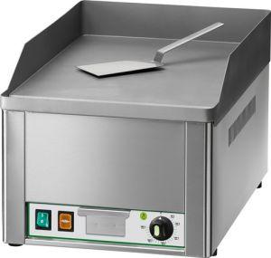 FRY1L Fry top electrico individual liso placa de acero 3000W monofasico