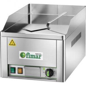 FRY1LC Fry top electrico individual liso placa de acero cromado 3000W monofasico