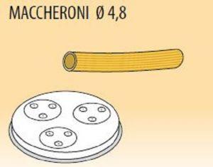 MPFTMA4-8 Trafila MACCHERONI Ø 4,8 per macchina per pasta fresca
