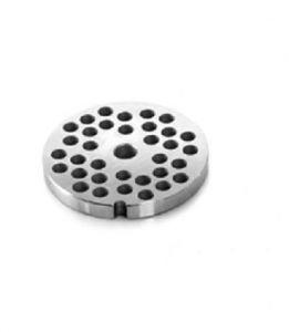 PU223 Piastra unger in acciaio inox fori 3-3,5-4 mm per tritacarne Fimar 22