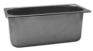 VG422025 Bandeja para helados en acero inoxidable 420x200x h250 mm