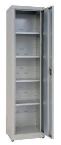 IN-Z.694.03 Armoire de rangement 1 pièce Porte en plastique plaqué 45x40x180 H
