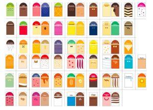 ITP384 Juego de marcadores para marcadores de palets - 68 sabores + 5 neutros
