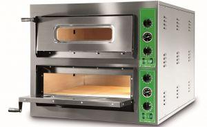 B9+9T  - Forni per Pizza INOX 12 PIZZA 36 cm  trifase B9+9