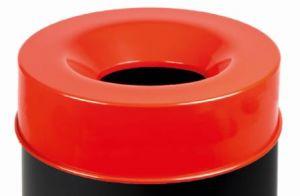 T770567 Coperchio Rosso per corpo gettacarte antifuoco 50 litri SOLO COPERCHIO
