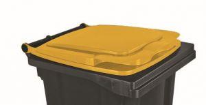 T910131 Tapa amarillo para contenedor de residuos externo 120 litros