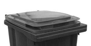 T910250 Tapa gris para contenedor de residuos externo 240 litros