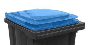 T910252 Tapa azul para contenedor de residuos externo 240 litros