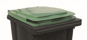 T910253 Tapa verde para contenedor de residuos externo 240 litros
