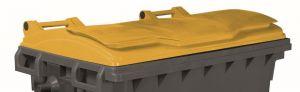 T910671 Coperchio Giallo per contenitore rifiuti esterni 660-770 litri