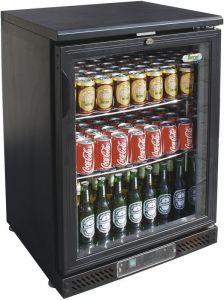 G-BC1PB Espositore refrigerato per bibite da 140 Lt. con temp. +2/+8°C