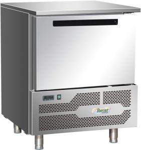 G-D5A Abbattitore surgelatore di Temperatura inox Aisi304, N°5 Teglie GN1/1