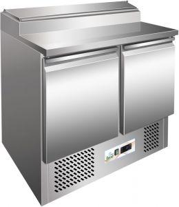 G-PS200- Saladette a refrigerazione statica telaio inox AISI304