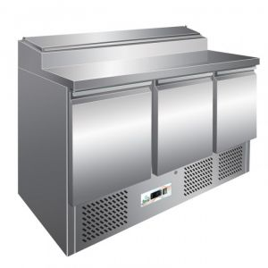 G-PS300 - Saladette refrigerata statica temp. +2°+8°C capacità 392 lt