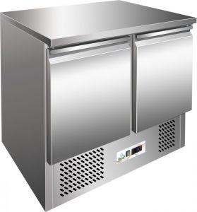 G-SS45BT - Saladette frío, temp. -12 ° -18 ° C, marco de acero inoxidable AISI304
