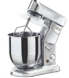 SLB5 5 Lt Planetary Dough Mixer in Satin Stainless Steel