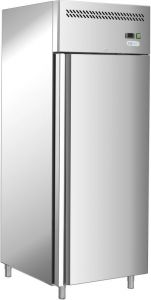 G-GN650TN-FC - Frigorifero ventilato professionale a singola porta in acciaio inox AISI201