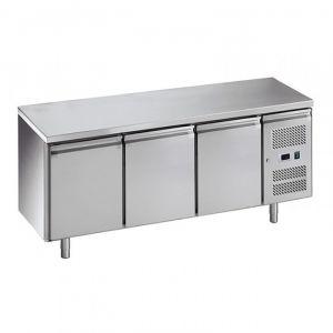G-PA3100TN-FC  Tavolo Refrigerato Pasticceria - 3 Ante - Temp -2° +8° C - Capacità Lt 580