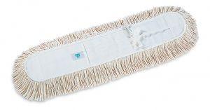 00000254 Frangia Cotone Con Lacci - Bianco - 100 Cm