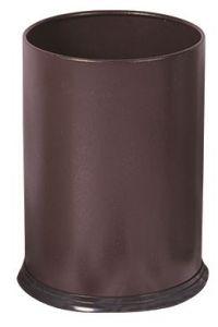 T103032 Brown steel Paper bin 12 liters
