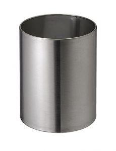 T103034 Corbeille à papier acier inox satiné 11 litres