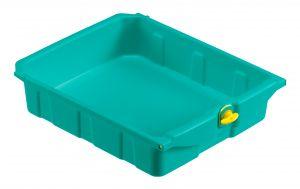 T090786 Cassetto Magic 10 L - Verde - Con Chiave