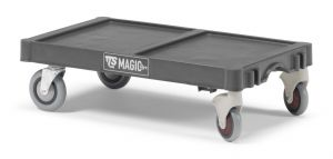 T99070E54 Base Magicart Grande - Antracite - Ruote Assiali E