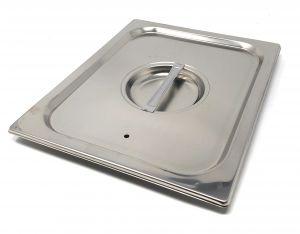 CPR1/2T Coperchio 1/2 in acciaio inox AISI 304 con guarnizione a tenuta