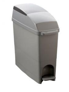 T104080 Hygiene sanitary plastic waste Bin Grey 22 lt