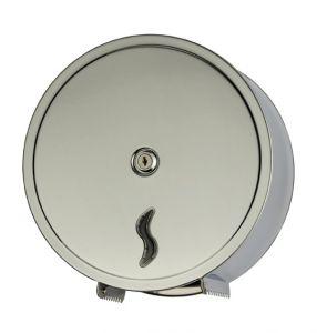 T105002 Distributeur de papier toilette 200 mt en acier inox AISI 304 18/10