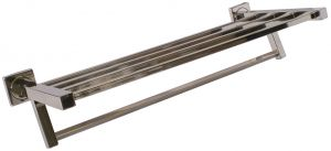 T105102 Bath towels shelf AISI 304 Polished stainless steel