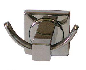 T105103 Double hooks bathrobe hanger Aisi 304 stainless steel