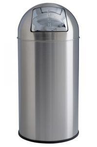 T106051 Gettacarte push acciaio inox satinato 40 litri