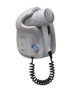 Secador de pelo GHIBLI-W Ghibli Evo White para uso en hotel Toma USB doble