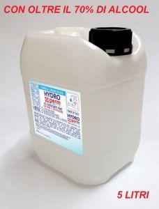 T799052-TAN5 Hydrogerm Gel igienizzante in tanica da 5 litri base idralcolica oltre il 70%
