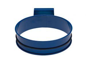 T601001 Porta sacco tondo in acciaio Blu