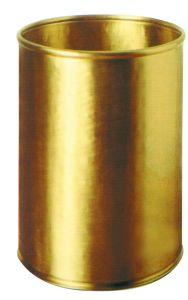 T700059 Gettacarte cilindrico in ottone 13 litri