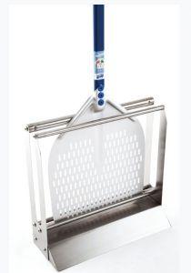 AC-APT50 Porta pala da pavimento in acciaio inox per pale fino a 50 cm